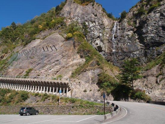Hakusan National Park, Nhật Bản: ふくべの大滝は迫力満点
