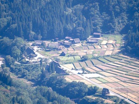 Hakusan National Park, Nhật Bản: 白川郷をのぞき込む感じです