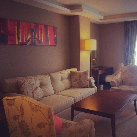 Grand Aras Hotel & Suites: Apartment suite livingroom