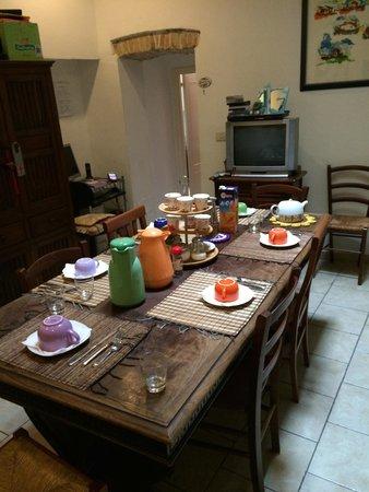 La Casa di Antonella: Breakfasts every morning.
