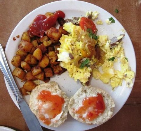 The Biscuit : South African Scramble