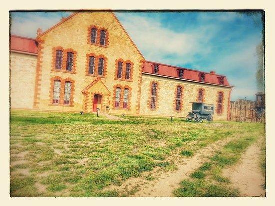 Wyoming Territorial Prison State Historic Site : Main Prison Building