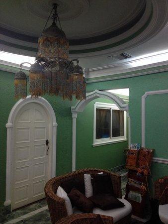 San Andres Noblehouse Hotel: Lounge recepção