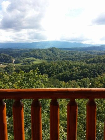 "Legacy Mountain Resort: View from top balcony ""Star Gazer"""