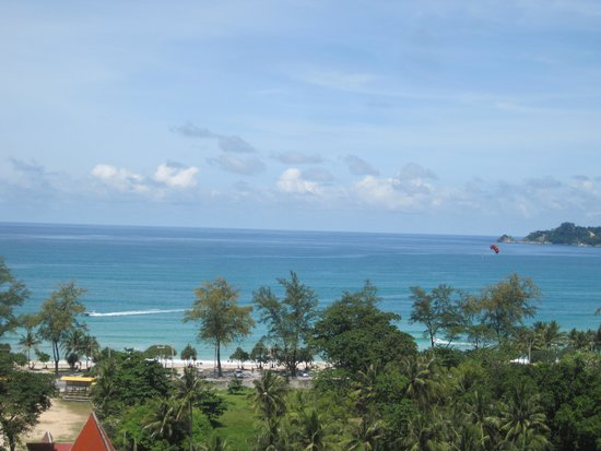 Andaman Beach Suites Hotel: View from our balcony