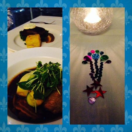 Wild Rocket at Misty's Micro Brewery: lovely birthday dinner