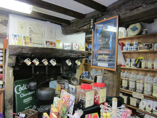 Oldest Sweet Shop In England: One area of the store.