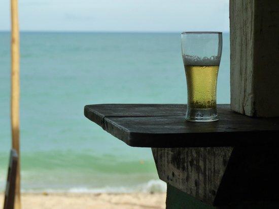 Aquarela Praia : Sombra e Cerveja Gelada