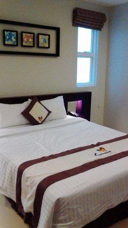 Sanouva Saigon Hotel: Bed