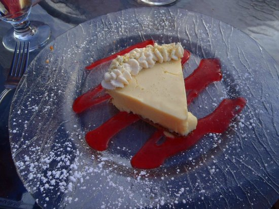 Chandler's Crabhouse: Key Lime Pie