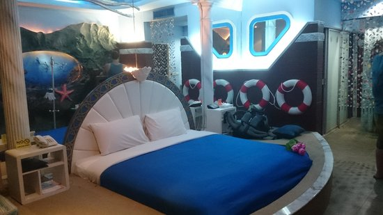 The Adventure Hotel: under the Sea, double room