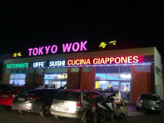 L 39 esterno del ristorante foto di l 39 oriente sushi wok for L esterno del ristorante sinonimo