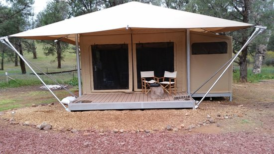 Wilpena Pound Resort Family Safari Tent & Family Safari Tent - Picture of Wilpena Pound Resort Flinders ...