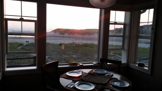 The Waves: View from the dining room table, 2nd floor unit