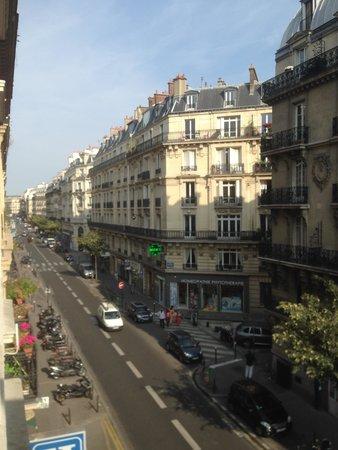 Hotel de Paris Maubeuge : вид из окна отеля