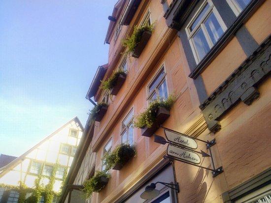 Hotel am Hoken: Fassade von der Straße aus