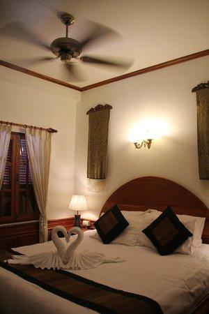 Villa Chitdara : une jolie chambre