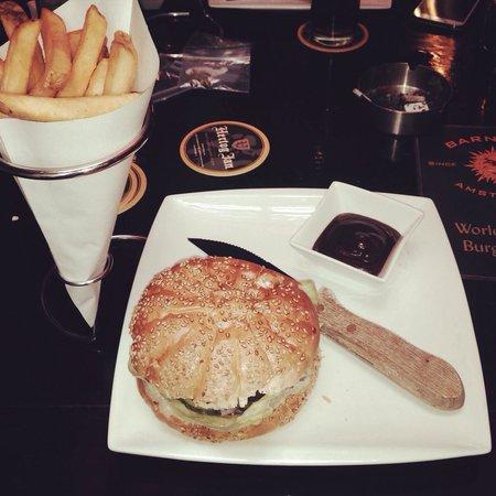 Barney's Coffeeshop: Burger