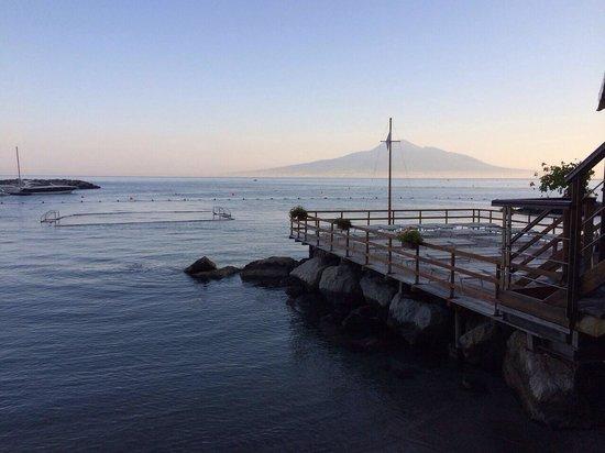 All\'alba - Picture of Antico Bagno Stabilimento Balneare, Vico ...
