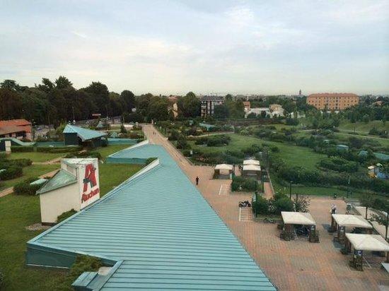 B&B Hotel Milano Monza: 眺望