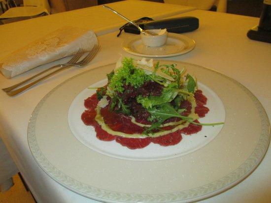Rhapsody Restaurant: carpaccio