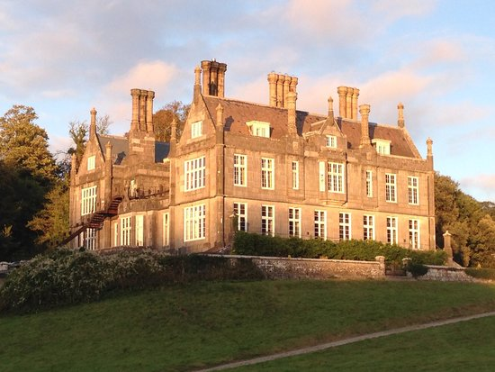 Kitley House Hotel: Hotel in Evening light