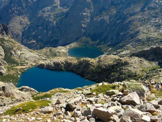 GR20: Lago de Capitello e du Melo GR 20. Foto di Giovanni Fusco