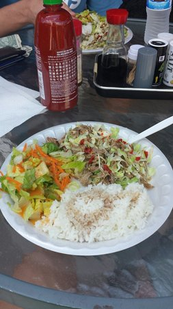 Local Food : Kaluha Shredded Pork :)