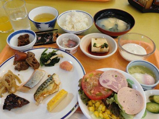 Arden Hotel Aso: 朝食バイキング