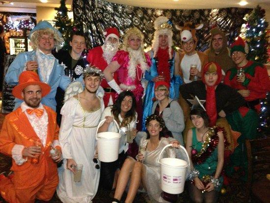 The Wye Bridge House: xmas charity pub crawl