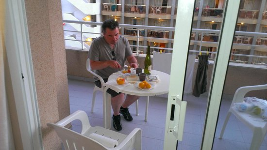Hotel & Spa Beverly Park : На террасе дополнительного корпуса