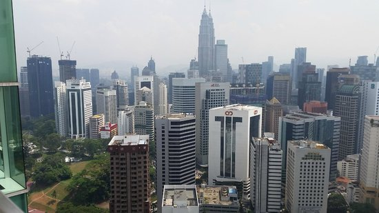 Lanson Place Bukit Ceylon Serviced Residences: The view