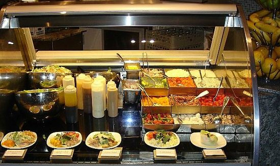 The Buffet at TI: Yum, Yum....