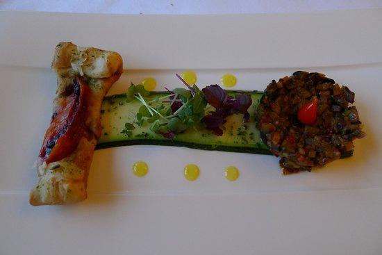 Ritzlerhof Selfness & Genuss Hotel: The Appetiser - a vegetarian dish