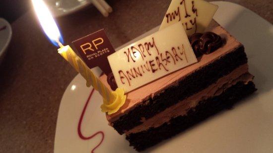 3rd Year Of Wedding Anniversary Picture Of Carousel Buffet Singapore Tripadvisor
