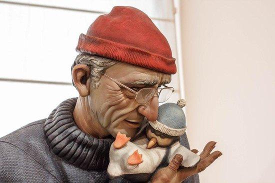 Museo del Gremio de Artistas Falleros : Cousteau