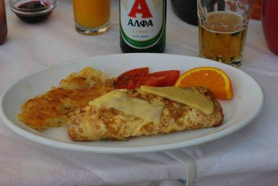 Mama's House: cheese omelette