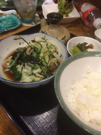 pariichi: 揚げ出しとんかつを御飯にかけて出汁をかければ、とんかつ茶漬