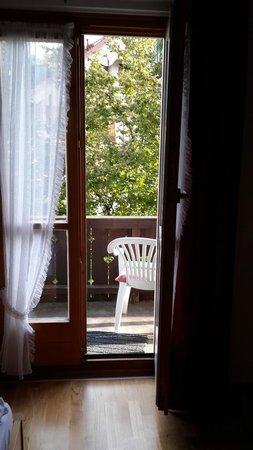 Landhaus Iris: выход на балкон