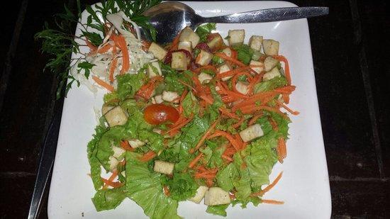 iRie Bar and Restaurant: Luab tofu, vegetarian dish