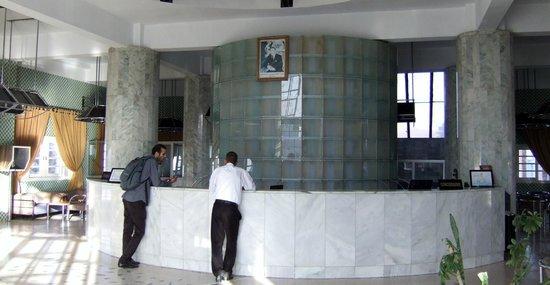 Tagadirt Hotel: hall ingresso