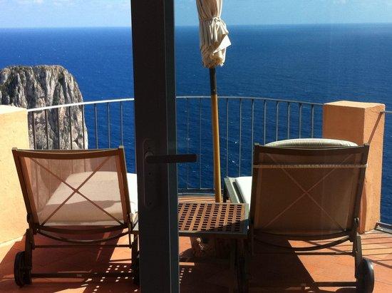 Punta Tragara: Terrazza suite Monacone