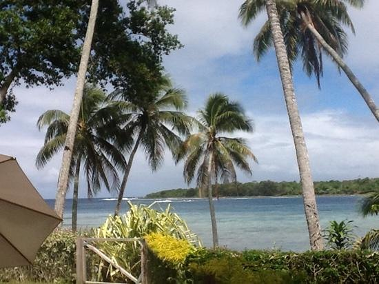 Pandanus Bay Waterfront Apartments: view from the apartment