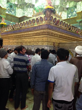 Qom, İran: Ziarat of Bibi Masooma