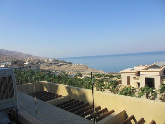 Kempinski Hotel Ishtar Dead Sea: View from breakfast