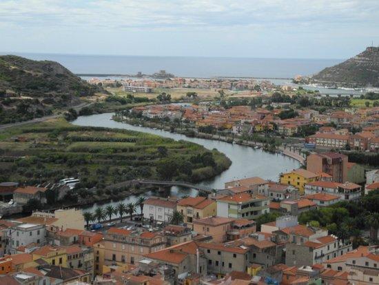 Albergo Diffuso Aghinas: Sea view, Bosa Marina