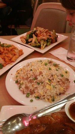 Braised Chicken and Vegetables (huge servings)