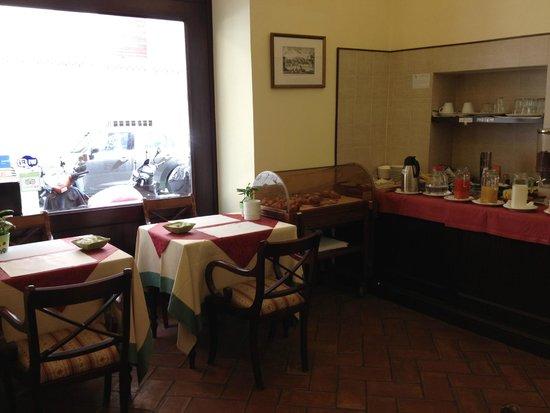 Hotel Trastevere : breakfast