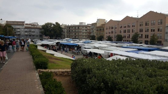 Javea, Spain: Wekelijks  markt donderdags