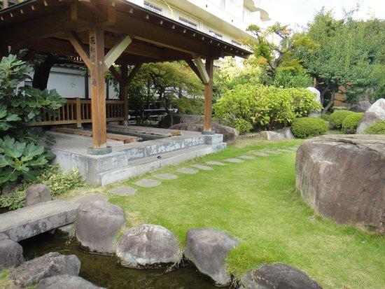 Hotel Shinko : 足湯